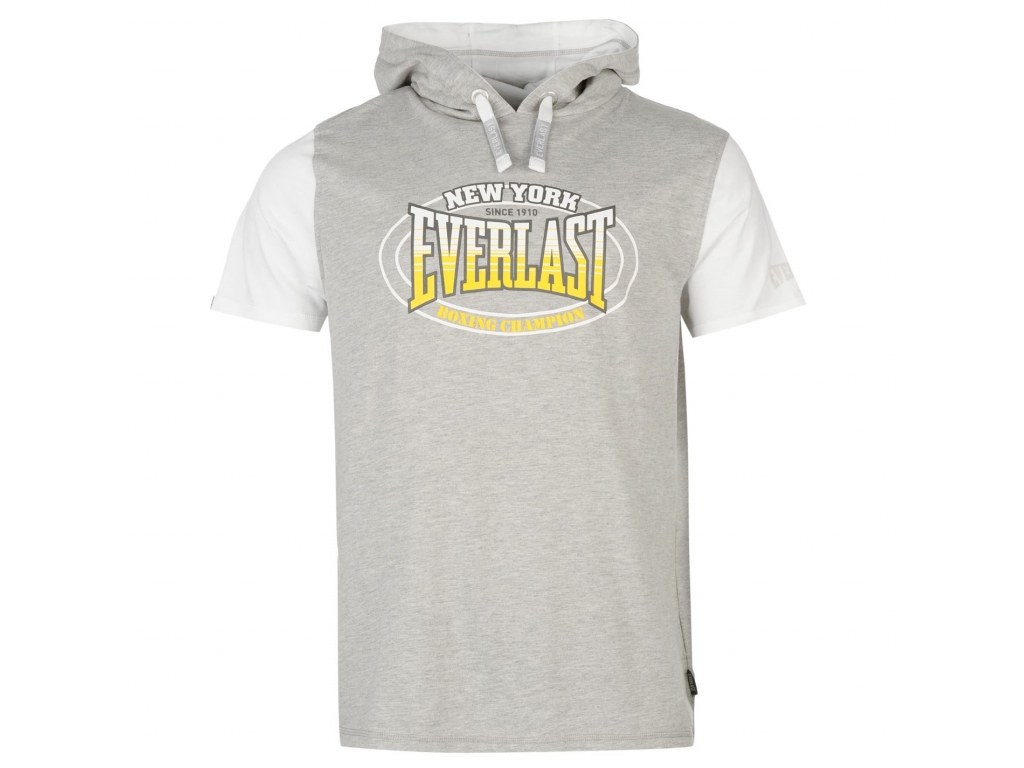 Футболка с капюшоном EVERLAST Mock Layer TShirt Mens