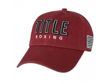 Кепка TITLE Boxing Anthem Adjustable Cap