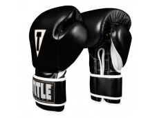 Перчатки тренировочные TITLE Boxeo Mexican Leather Training Gloves Tres